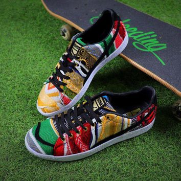 NOV9O2 The Notorious B.I.G COOGI x Puma Suede Classic Color Fabric Low Shoes