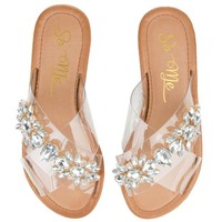 DCCKLP2 Women's Eliza Clear Sandals