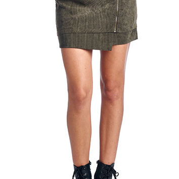 Corduroy Mini Skirt (more colors)