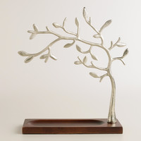 Wood Base Tree Jewelry Stand - World Market