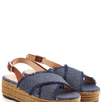 Denim Espadrille Sandals - Castañer | WOMEN | US STYLEBOP.COM