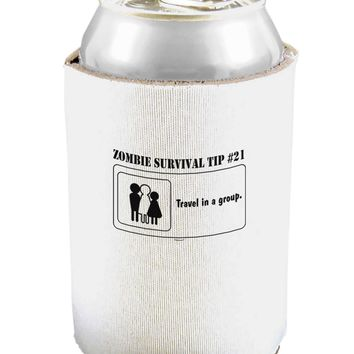 Zombie Survival Tip # 21 - Group Can and Bottle Insulator Cooler