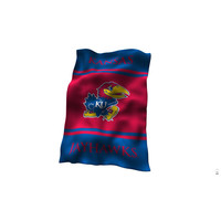 Kansas Jayhawks NCAA UltraSoft Fleece Throw Blanket (84in x 54in)