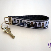 Doctor Who Dalek Inspired Keyring