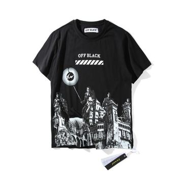 spbest Off-White Off-Black Roman Massacre T-Shirt