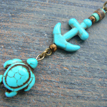 turtle belly ring anchor belly ring nautical belly ring sea turtle beach