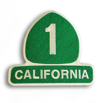 California Highway 1 Sign Patch