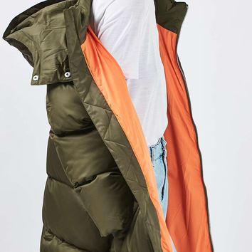The Glow Worm Puffer Jacket by Boutique | Topshop