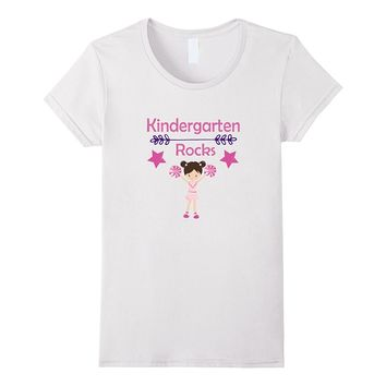 Kindergarten Gift Shirt for Girls on the First Day of School