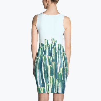 Cactus Sublimation Dress