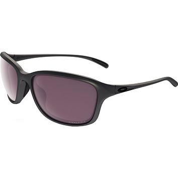 Oakley Women's 0OO9297 She's Unstoppable Sunglasses, Steel/Prizm Daily Polarized