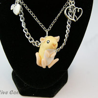Rat Necklace, Gift for Pet Lover, Ready to ship
