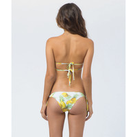 Billabong Women's Pina Colada Biarritz Bikini Bottom White