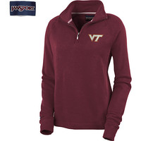 Virginia Tech University Women's 1/4 Zip Chelsea Fleece Pullover | Virginia Tech University
