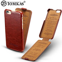 Flip PU Leather Case For iPhone 6 6S Coque Luxury Phone Back Cover For Apple iPhone 6 Plus / 6s Plus Cases Business Brand TOMKAS