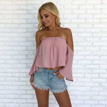 Perfectly Pink Crop Top