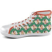 Pee Wee Herman Pop Icon Sneakers - Available in High Tops, Low Tops or Slip Ons