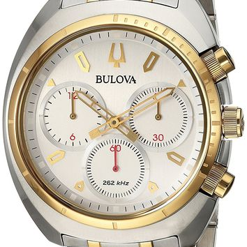 Bulova Two-Tone Stainess Steel Chronograph Watch 98A157