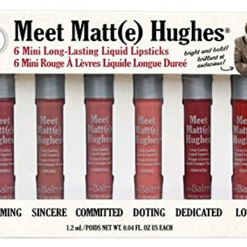 theBalm Meet Matt(e) Hughes Kit, 0.04 fl. oz.