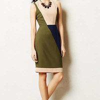 Perle Sheath by Anthropologie Moss