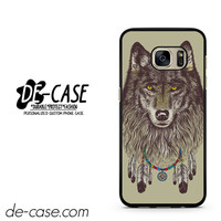 Wolf Wearing Dream Catcher DEAL-11980 Samsung Phonecase Cover For Samsung Galaxy S7 / S7 Edge