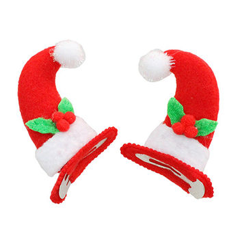 2 Styles Girl Women Horn Antler Hat Non-Slip Hair Clip Hairpin For Kid Gifts  SM6
