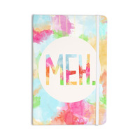 "Skye Zambrana ""Meh"" Rainbow Watercolor Everything Notebook"