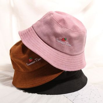 Wearzone 2018 Outdoor Bucket Hat Women Unisex Fashion cap Hip Hop Summer Gorro Fishing Beach SunSunscreen Hat
