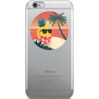 Pineapple iPhone 6 6s Plus Case | Tropical Hawaiian Cover | The Jazzy Panda