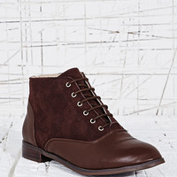 Deena & Ozzy Princeton Lace-Up Suede Shoes - Urban Outfitters