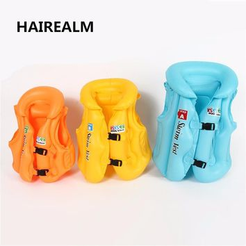 3 Size Adjustable Children Kids Babys Inflatable Pool Toys Child Swimming Safety Vest Boys and Girls Float Life Vest Swiwmsuit