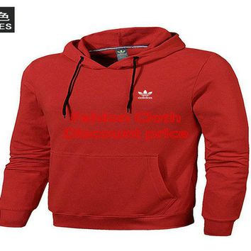 Adidas 2018 New Style Fashion Trend Sweater 18699 L-4XL Red
