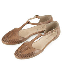 HACIENDA Vintage T-bar Shoes - Flats  - Shoes