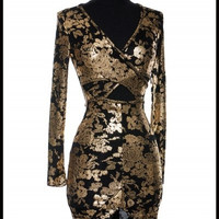 Golden Rush Dress