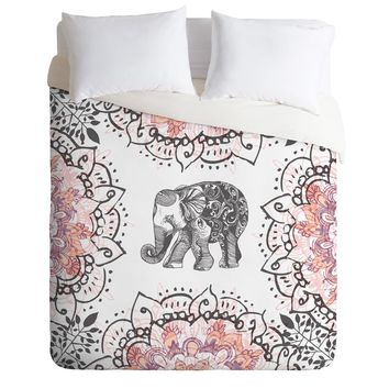 RosebudStudio Pretty Little Elephant Duvet Cover