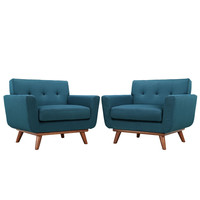 Engage Armchair Wood Set of 2 by Modway Furniture