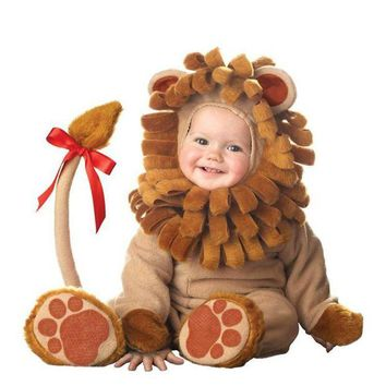 DCCKH6B Baby Boy Toddler lion Movie Character Cosplay Fancy Dress Halloween Party Carnival Costumes