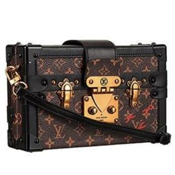 Louis Vuitton Petite-Malle Trunk Bag