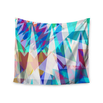 "Miranda Mol ""Triangle Party"" Multicolor Wall Tapestry"