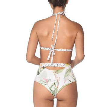 MALAI Silent Vegflor High Waist Bottom