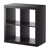 EXPEDIT Shelving unit - black-brown - IKEA