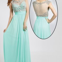 Chiffon Long Prom Dress 20360 - Prom Dresses