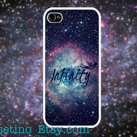 Galaxy Infinity iPhone 5 Case Printed iPhone 4 case, iPhone 4S case, Hard Plastic Case, Iphone Cover, art, endless