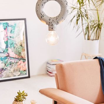 Jasa Ceramic Hoop Pendant Light | Urban Outfitters