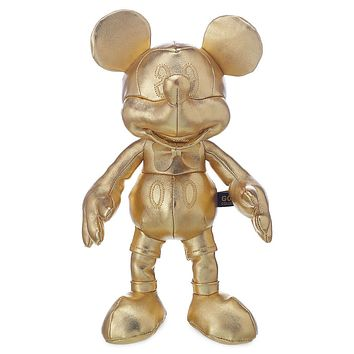 Disney Mickey The True Original Gold Collection Small Plush New with Tags