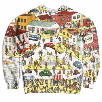 Where The Hell's Waldo Sweater