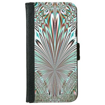 abstract crystal design wallet phone case for iPhone 6/6s