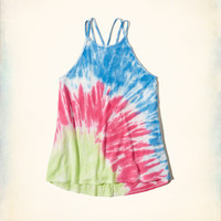Must-Have Dye Effect Strappy Tank