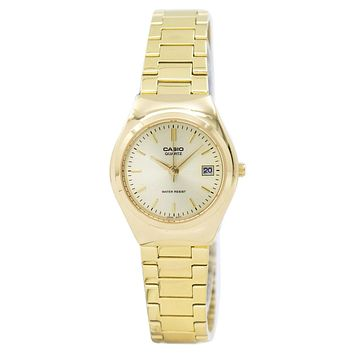 Casio Analog Gold Tone LTP-1170N-9ARDF LTP1170N-9ARDF Women's Watch