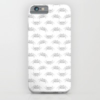 Pop Art Style Crabs Motif Pattern iPhone & iPod Case by DFLC Prints